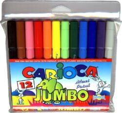 popisovače  Carioca Jumbo 12ks