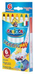 popisovače Carioca Cromatex na textil  6ks
