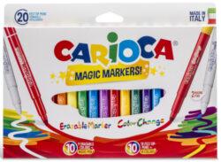 popisovače Carioca Magic 9+9+2ks