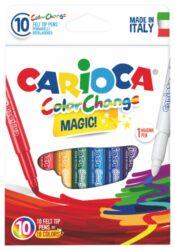 popisovače Carioca Color change 9+1ks