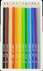 pastelky Carioca Tita trojhranné pružné 12ks(8003511427863)