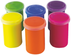 barvy temperové Toy color fluo 25ml 6ks-6 barev - 25ml