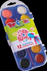barvy vodové 30mm Toy color 12ks