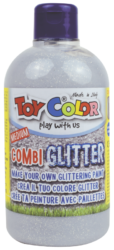 barva Combi Glitter Toy color 0.5 l-vytvořte vlastní třpytivou barvu