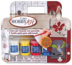 barvy na textil Toy color 25ml 5ks