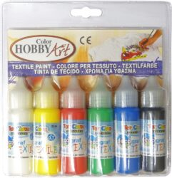 barvy na textil Toy color 25ml 6ks*