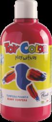 barva temperová Toy color 0.5 l  červená 10 tmavá