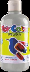 barva temperová Toy color 0.5 l metal stříbrná 25