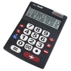 kalkulačka Milan 151712 BL-12 míst, velká tlačítka
