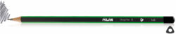 tužka Milan   B (1) trojhranná (951)-PRODEJ POUZE PO BALENÍ