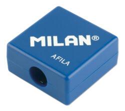 ořezávátko  Milan AFILA na 1 tužku-PRODEJ POUZE PO BALENÍ rozměry: 2,7 x 2,7 x 1,3 cm