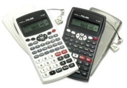 kalkulačka Milan 159110 KBL vědecká černá - blistr-240 funkcí, plastový kryt