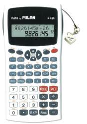 kalkulačka Milan 159110 WBL vědecká šedá - blistr-240 funkcí, plastový kryt