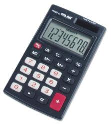 kalkulačka Milan 150208 K-8 míst, oranžová, v pouzdru