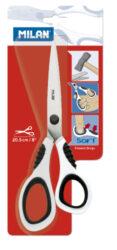 nůžky Milan 10150 - bílé(8411574032366)