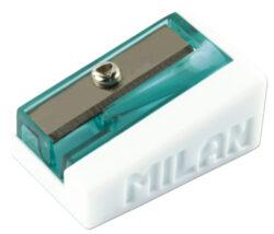 ořezávátko  Milan BASIC na 1 tužku-PRODEJ POUZE PO BALENÍ rozměry: 2,8 x 1,8 x 1,2 cm
