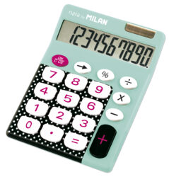 kalkulačka Milan 150610 DBB-10 míst, tyrkysová