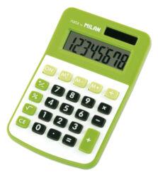 kalkulačka Milan 150808 GR-8 míst, zelená