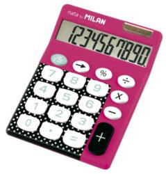 kalkulačka Milan 150610 DBR-10 míst, vínová