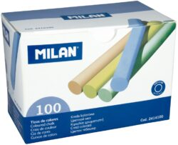 křídy  Milan barevné 100 kusů-křídy barevné