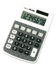 kalkulačka Milan 150808 AG-8 míst, šedá design