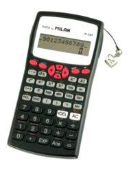 kalkulačka Milan 159110 RBL vědecká černo/červená - blistr-240 funkcí, plastový kryt
