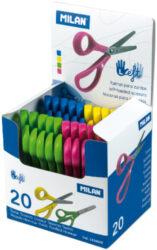 nůžky dětské Milan pro leváky v disp,(8411574042013)