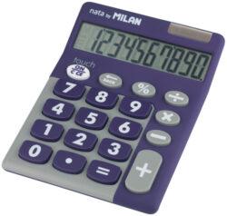kalkulačka Milan 150610 TDPRBL-10 míst, pogumovaná, vínová