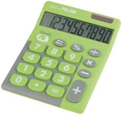 kalkulačka Milan 150610 TDGRBL-10 míst, pogumovaná, zelená