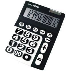 kalkulačka Milan 150912 KBL-12 míst, velká tlačítka