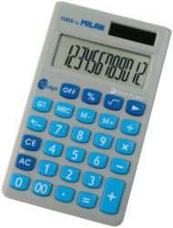 kalkulačka Milan 150512-12 míst, modrá, v pouzdru