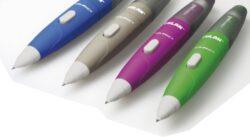 mikrotužka Milan COMPACT 0,7mm - boční posun (377)-mikrotužka s velkou gumou rozměry: 12,8 x 1,6 x 1,6 cm