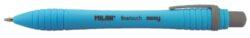 kuličkové pero Milan SWAY modré-rozměr: 12,8 x 1,4 cm
