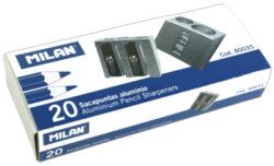 ořezávátko  Milan  kovové na 2 tužky(8411574800354)
