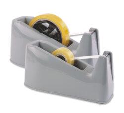 stolní odvíječ Milan 209 pro 25 x 66 šedý-odvíječ lepící pásky o hmotnosti 1,3kg