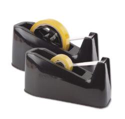 stolní odvíječ Milan 210 pro 25 x 66 černý-odvíječ lepící pásky o hmotnosti 1,3kg