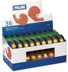 lepící páska  19 x 33 s odvíječem Milan(8411574802174)