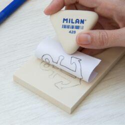 linorit blok gumy  7,2x11,4x0,9 cm Milan(8414034699017)
