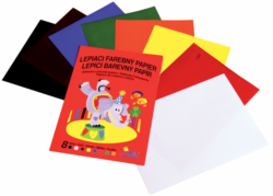 papír A4 barevný lepící mix 8l Notes