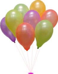 balónek koule fluo 29/95-PRODEJ POUZE PO BALENÍ