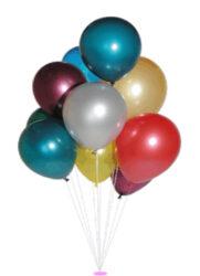 balónek metalíza 30/100-PRODEJ POUZE PO BALENÍ