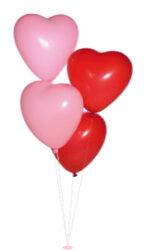 balónek srdce-PRODEJ POUZE PO BALENÍ