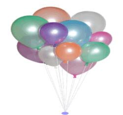 balónek metalíza perleť 27/90-PRODEJ POUZE PO BALENÍ