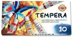 barvy temperové 10 ks-barvy temperové 10 x 16 ml