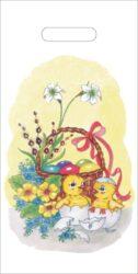 taška velikonoční 20 x 40 Kuřátka-PRODEJ POUZE PO BALENÍ !!!