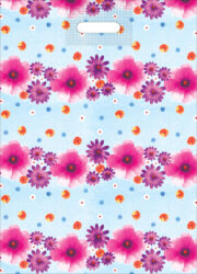 taška 50 x 35 květinový den-PRODEJ POUZE PO BALENÍ !!