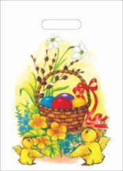 taška velikonoční 25 x 35 Velikonoční koleda-PRODEJ POUZE PO BALENÍ !!!