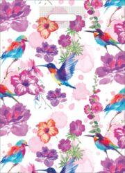 taška 50 x 35 kolibříci-PRODEJ POUZE PO BALENÍ !!