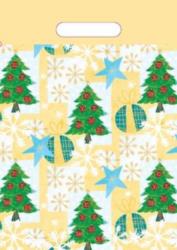 taška  vánoční 35 x 25  stromeček-PRODEJ POUZE PO BALENÍ