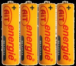 baterie AIT  R6 AA Silver 4ks - 080